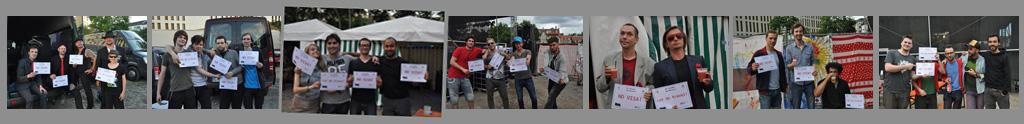 Bands Lustgarten for visa free 2014
